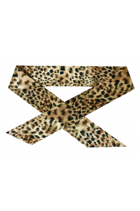 HANDLE BANDEAU GOLDEN LEOPARD
