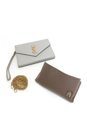 Conversion Kit for YSL Monogram Clutch Wristlet